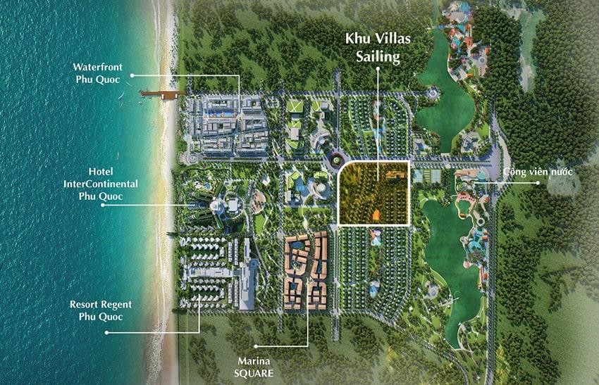 Tổng quy mô dự án Phú Quốc marina