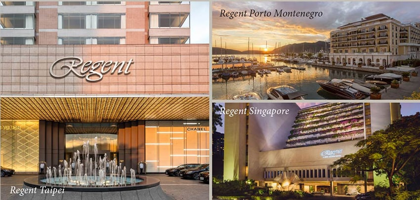 Khách Sạn Regent đang hoạt động trên Thế Giới