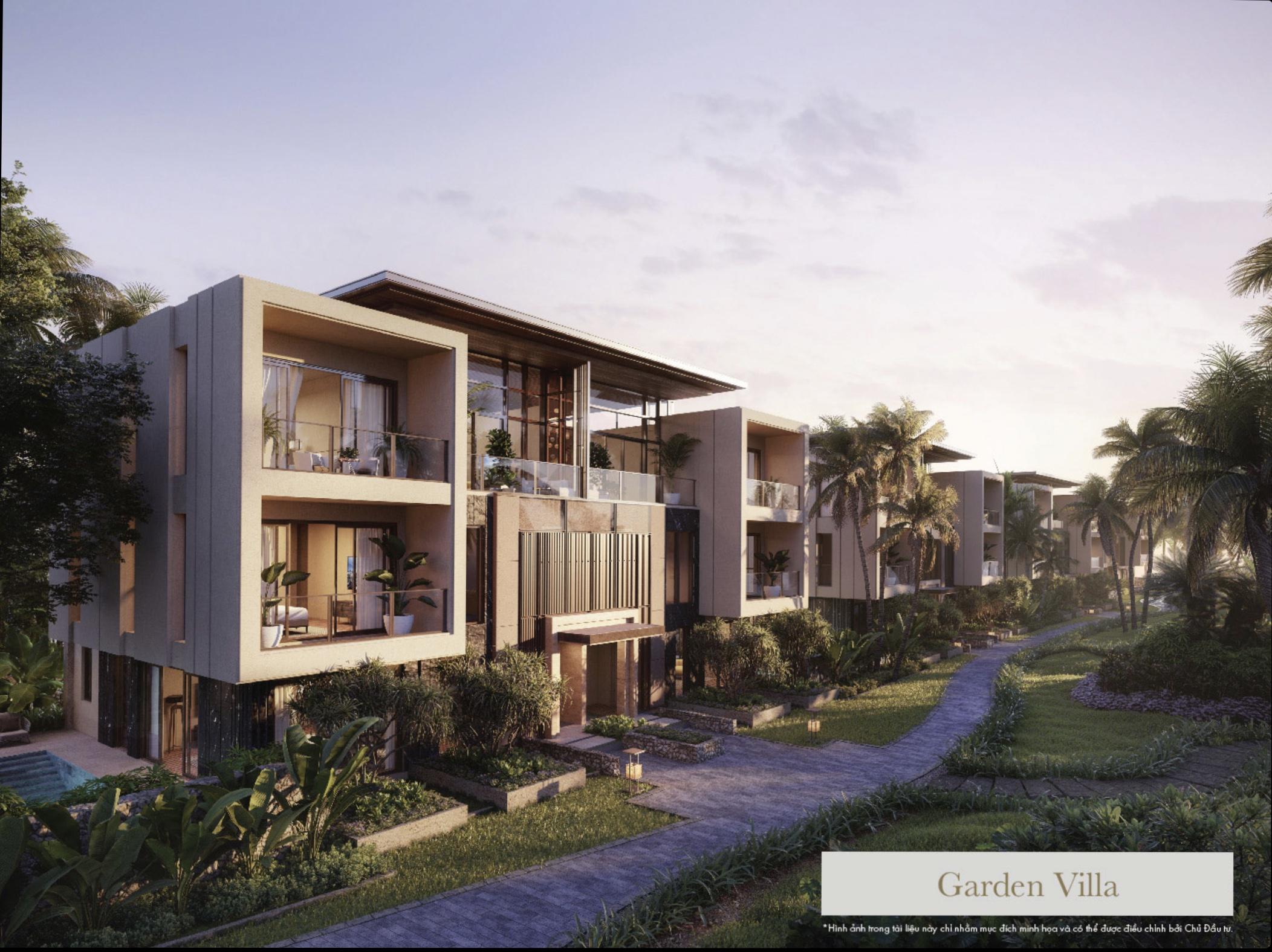 Căn biệt thự Garden Villas 3PN