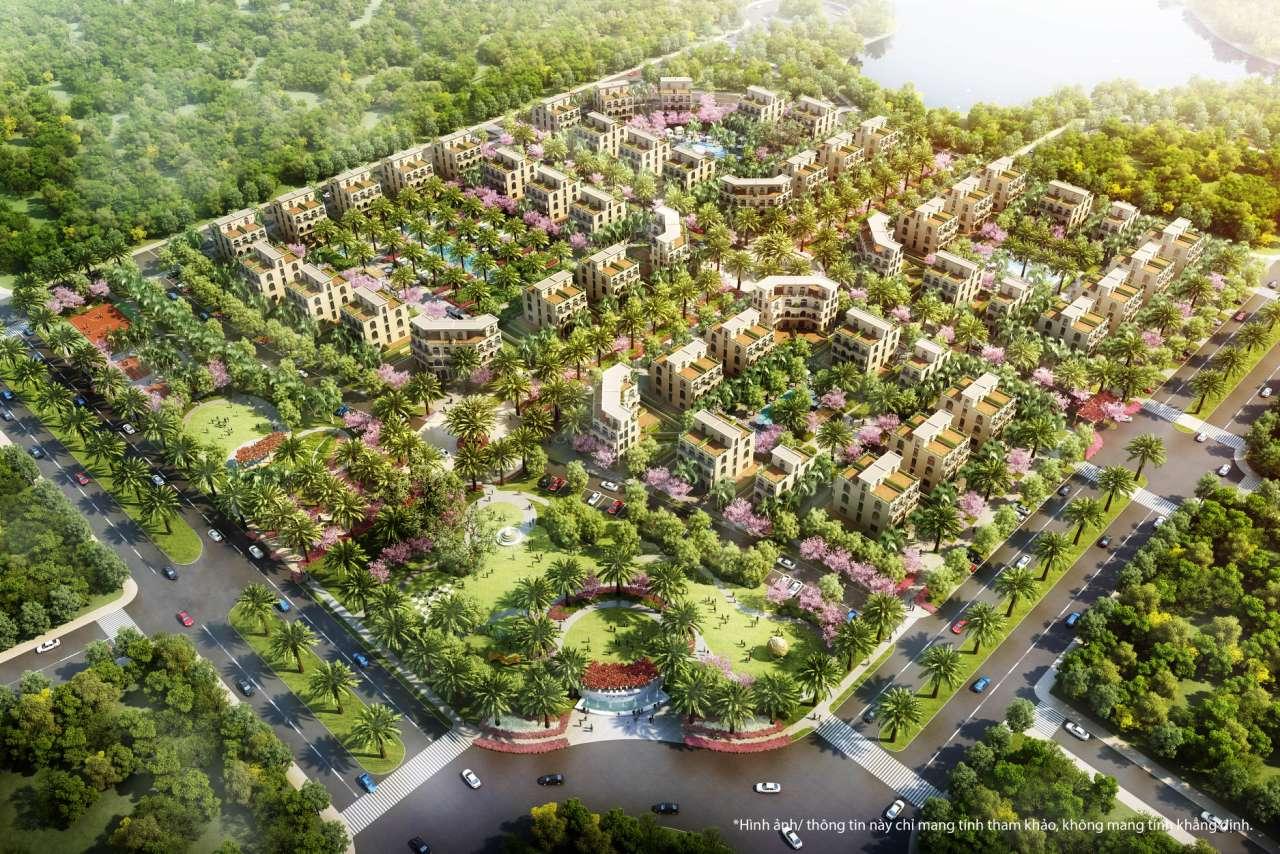Tông quan 7,5 ha Shop villas Phú Quốc