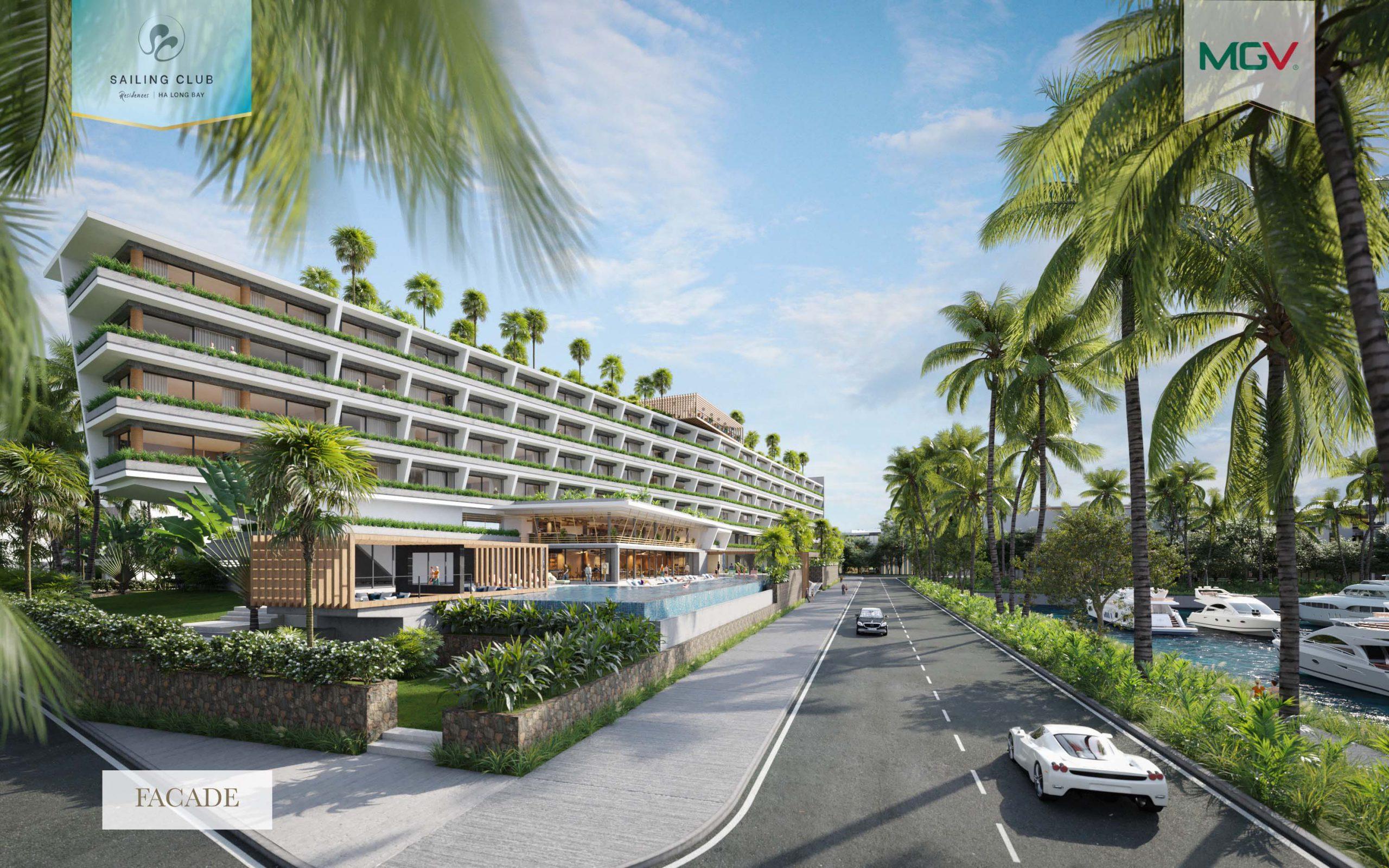 Tổ hợp khách sạn Sailing Club Residences Ha Long Bay